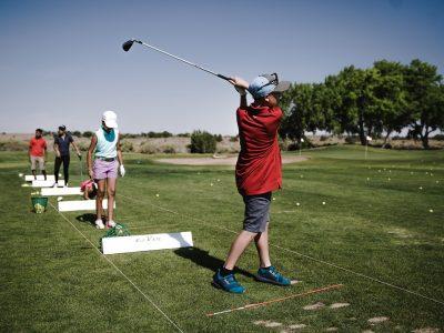 alumnos golf